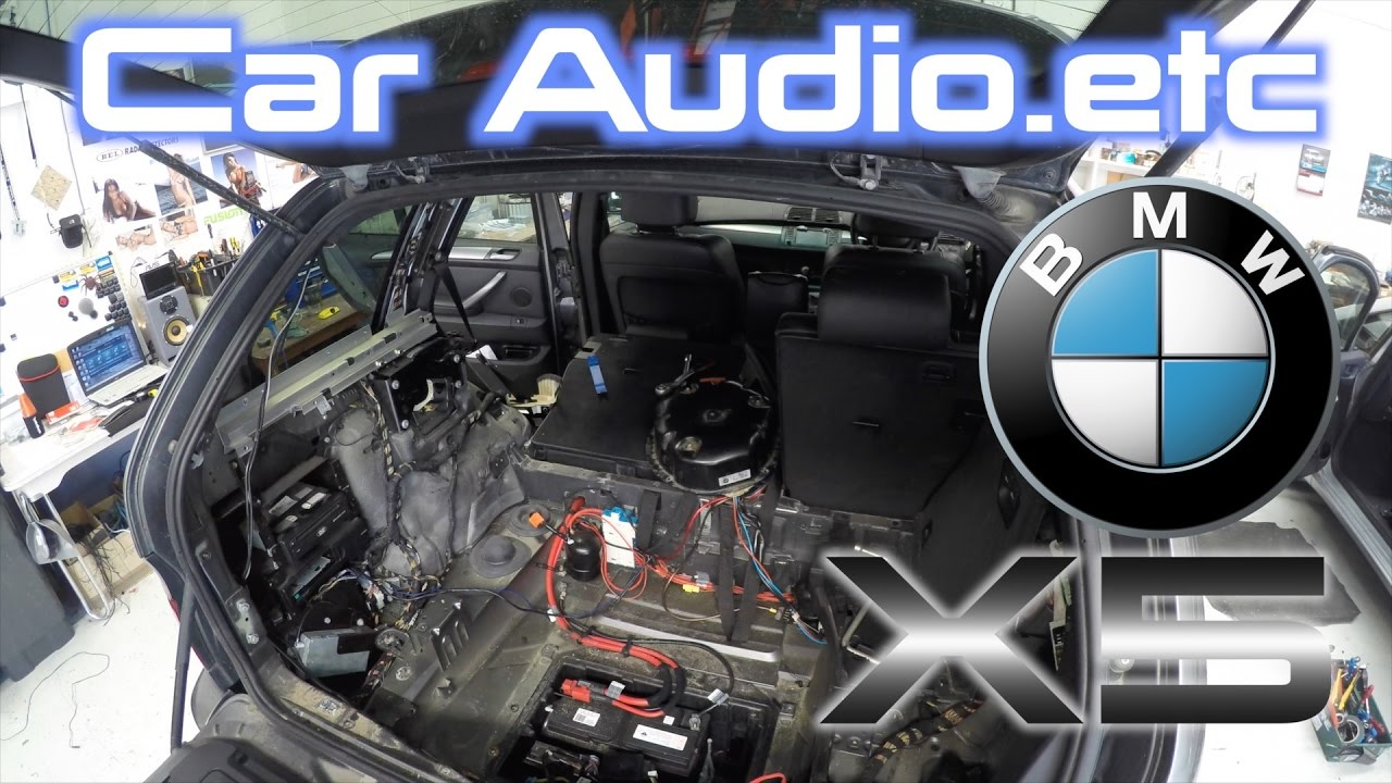 Subwoofer Wiring Diagram Of A Three Way Switch Bmw X5 Stereo & Amp Replacement! Big Job! | Part 1/5 - Youtube