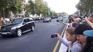 Проводы Каримова в последний путь