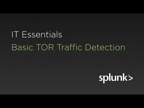 Basic TOR Traffic Detection