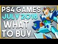 PS4 Games in JULY 2018 - What to BUY! (NEW PlayStation 4 Games 2018)