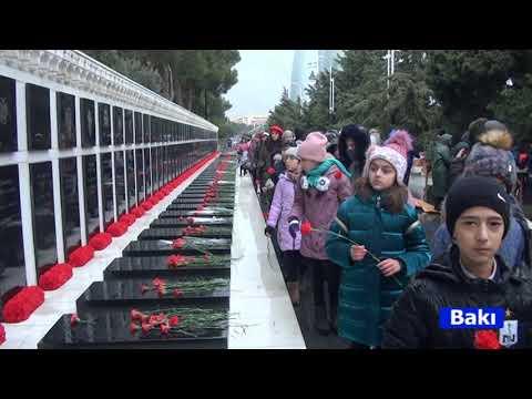16 01 2020 Baki Qubadli mektebi 20 Yanvar