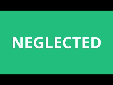 How To Pronounce Neglected - Pronunciation Academy