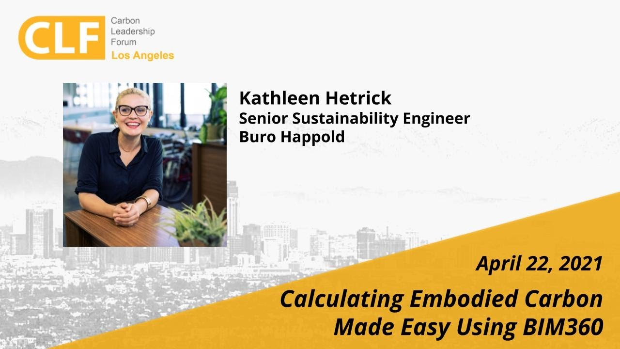 Apr 22, 2021 - Earth Day & Calculating Embodied Carbon Made Easy Using BIM360