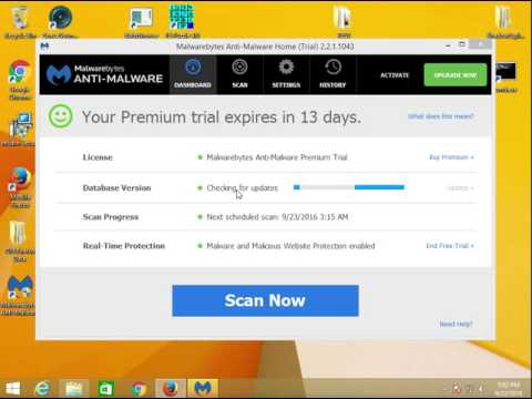 Remove malware, adware, PUPs with Malwarebytes Anti-malware