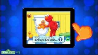 Sesame Street: Potty Time with Elmo App Preview