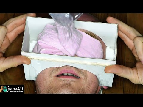 Face in Epoxy Resin. DIY  Face Cast / ART RESIN