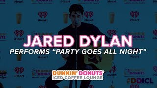 Jared Dylan Performs 'Party Goes All Night' Live