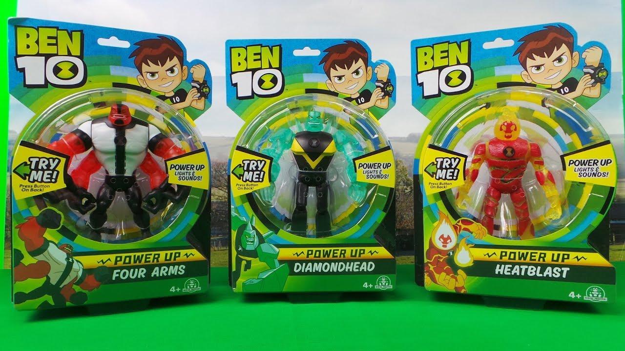 Ben 10 Power up Deluxe Action Figure Diamondhead