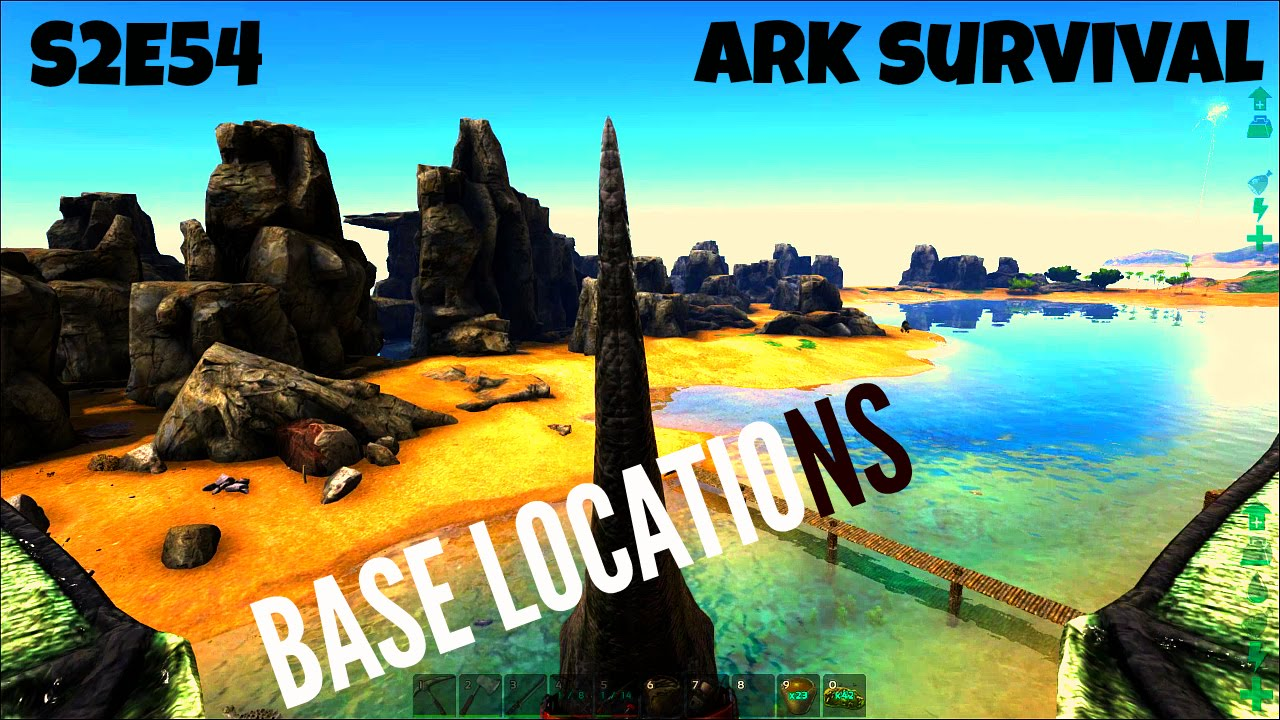 Best Base Biulding Locations On Ark The Island