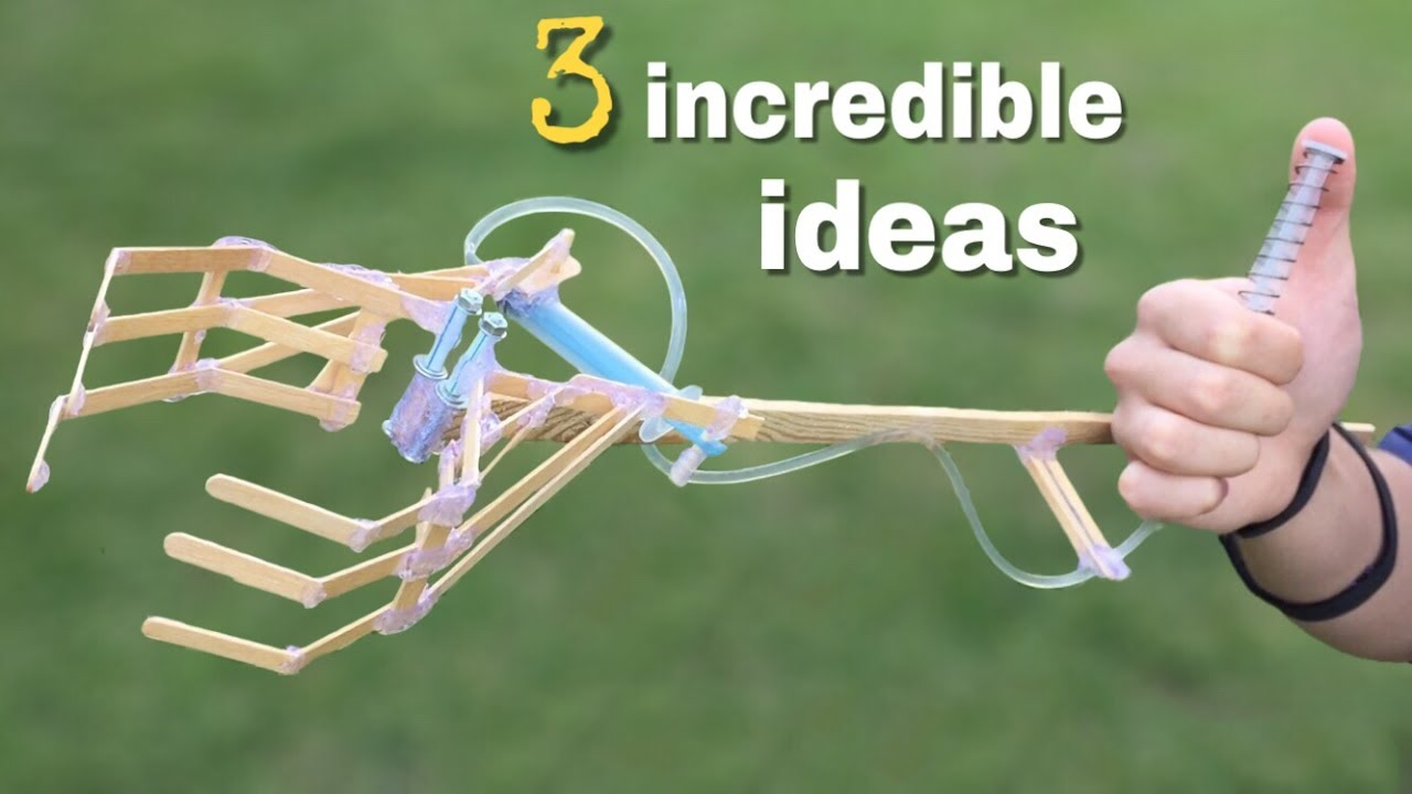 Hydraulic Arm Yuri Ostr : Incredible ideas and awesome diy projects youtube