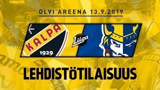 Lehdistötilaisuus, KalPa - Jukurit, 13.9.2019