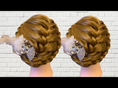 Easy prom hairstyle for long hair  Bridal updo | ทรงผมน่ารักๆ ทำได้ง่ายๆ ทรงผม 2019 thumbnail