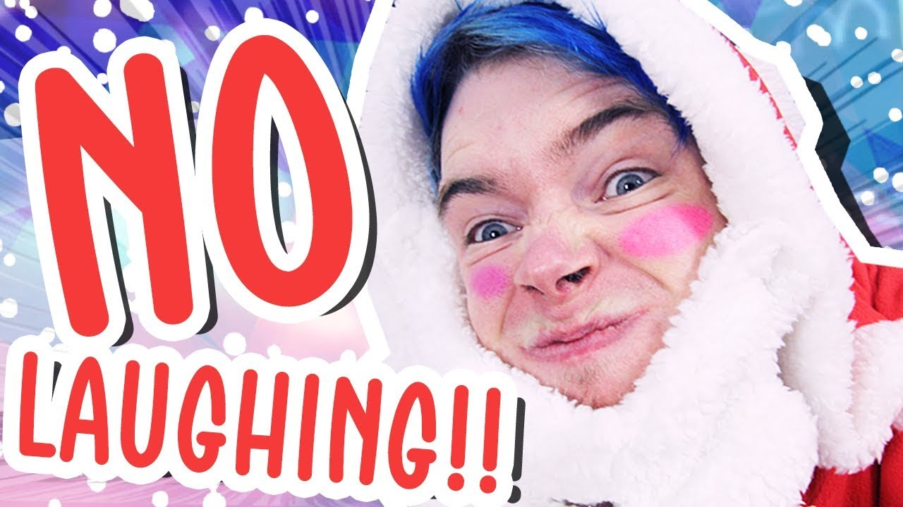 TRY NOT TO LAUGH CHALLENGE!!! (Christmas Edition) - YouTube