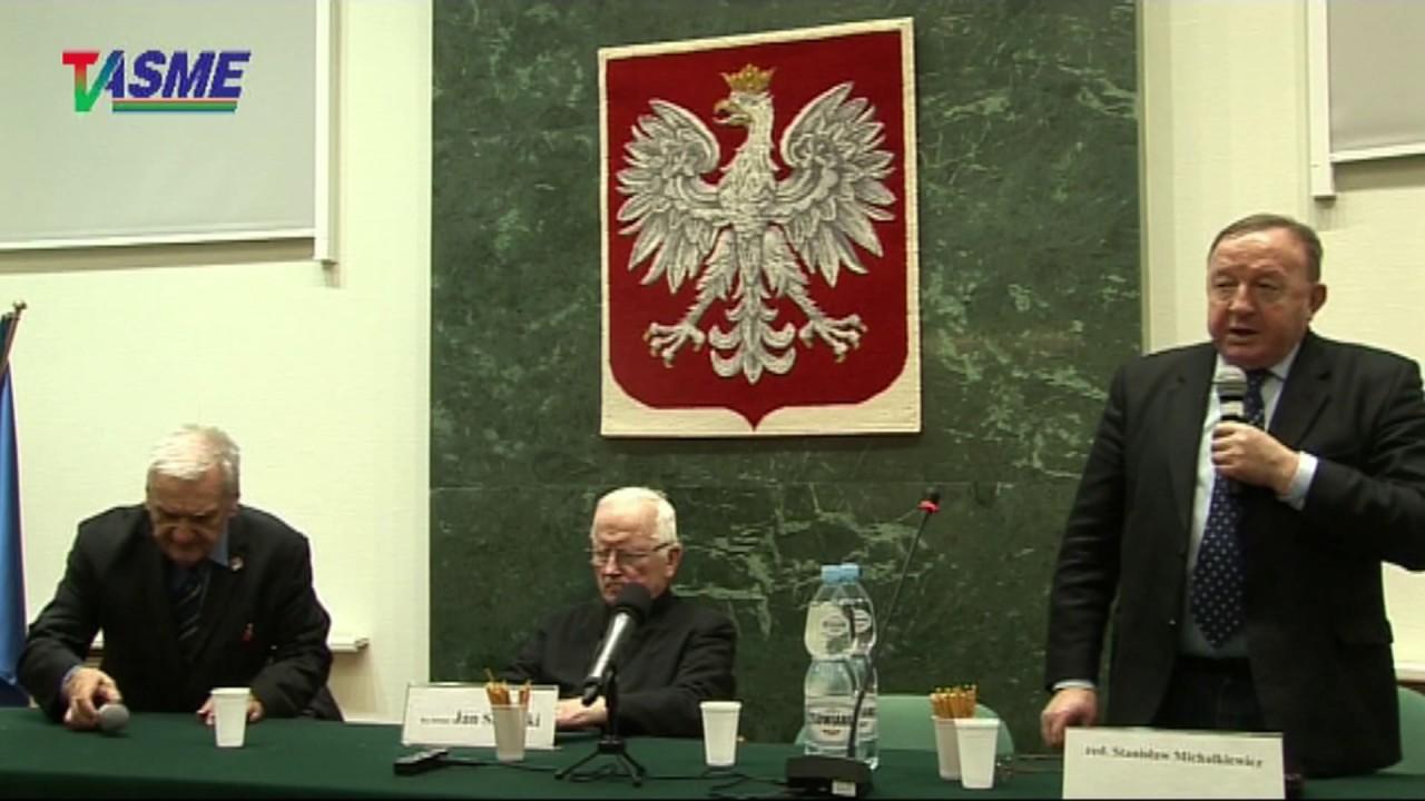 Holokaust Żydów, holokaust Polaków – Stanisław Michalkiewicz i ks. infułat Jan Sikorski 09.03.2018