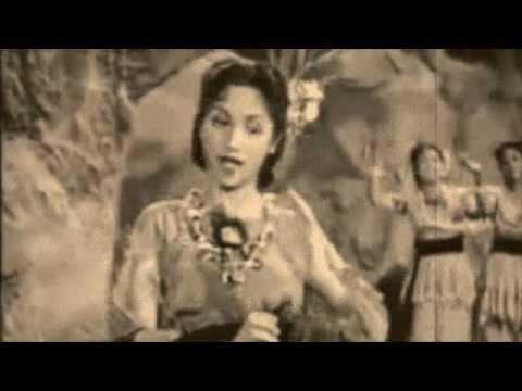 aaj mane..lata mangeshkar. badal 1951