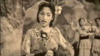 aaj mane..lata mangeshkar..film badal 1951