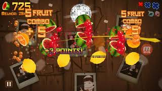 Fruit Ninja Classic Gameplay! #1 Classic Mode +1500 Points!!!