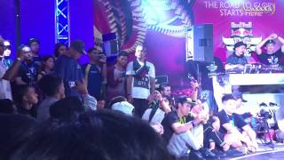 Redbull Bc One Malaysia Cypher 2015 Judges Showcase - Zack , Nori & Lilou