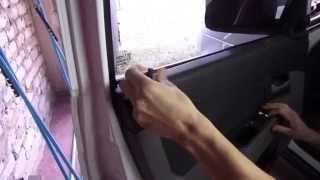 видео приора снятие обшивки двери