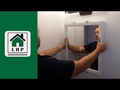 Hanging A Bathroom Medicine Cabinet   LHP
