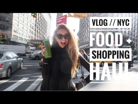 Back in NYC | Food + Shopping Haul // Romee Strijd VLOGS