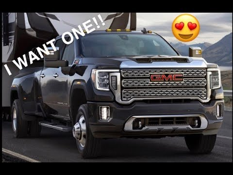 MY FIRST IMPRESSIONS OF THE 2020 GMC Sierra HD!!!