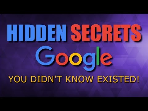 10 Hidden Google Secrets You Didn't Know Existed!