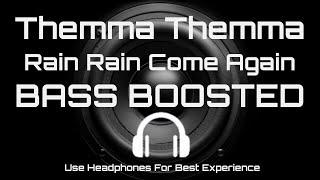 Themma Themma[BASSBOOSTED]Song |  Rain Rain Come Again | Jassie Gift | Malayalam
