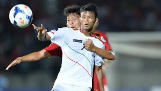 Thailand vs Myanmar: AFC U19 Championship 2014 (Group Stage)