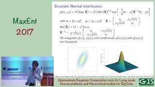 MaxEnt 2017 - Ali Mohammad-Djafari - Approximate Bayesian Computation tools - Part 1/2