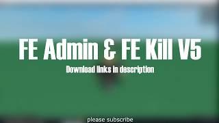 Roblox Wie man Admin auf jedem Spiel (FE Admin Script)