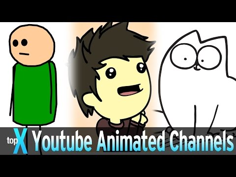 Top 10 YouTube Animated Channels  -  TopX Ep.28