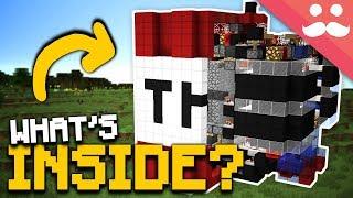 What's Inside a TNT BLOCK in Minecraft!?