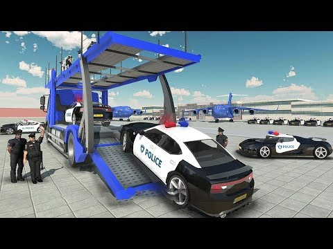 Police Plane Transporter Simulator 2017 (by Crazy Neuron Studio) Android Gameplay [HD]