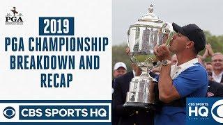Brooks Koepka Wins Second Straight PGA Championship, Why Tiger Woods Struggled | CBS Sports
