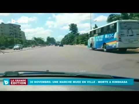Kinshasa Ville Morte, Une marche muée en ville, 30 Novembre 2017