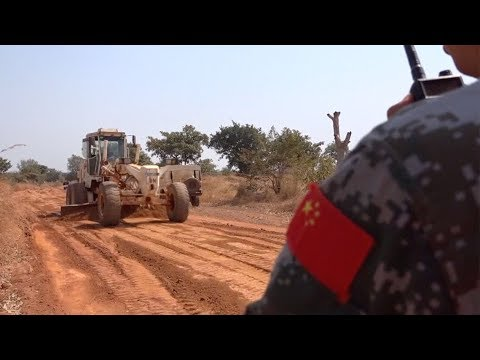 Chinese peacekeepers repairs 300 km supply route in South Sudan