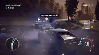 Nissan 240 Pursuit Arkwright // Nearly Busted 3 times // NFS Payback