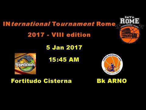 Fortitudo Cisterna LT vs Rignano Val D'Arno