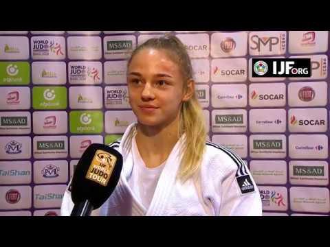 Daria BILODID (UKR) Winner Judo Grand Prix Tunis 18