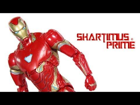 Marvel Legends Iron Man Avengers Infinity War Thanos BAF Wave Movie Hasbro Aciton Figure Toy Review