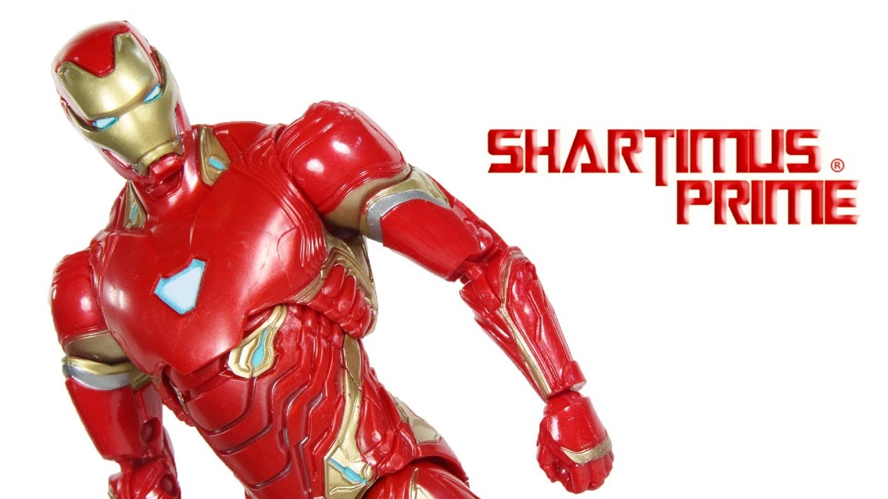 96dfd45ee57 Marvel Legends Iron Man Avengers Infinity War Thanos BAF Wave Movie Hasbro  Aciton Figure Toy Review