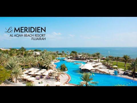 Beach In Dubai Le Meridien Al Aqah Beach Resort 2019 Youtube