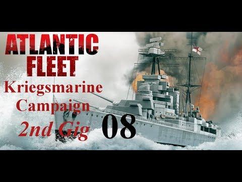 Atlantic Fleet Kriegsmarine 2nd Gig Episode 08 - Heavyweight Hits