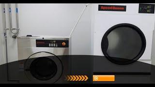 Máy giặt và máy sấy công nghiệp công suất 20 kg - Máy giặt công nghiệp Image Thái Lan