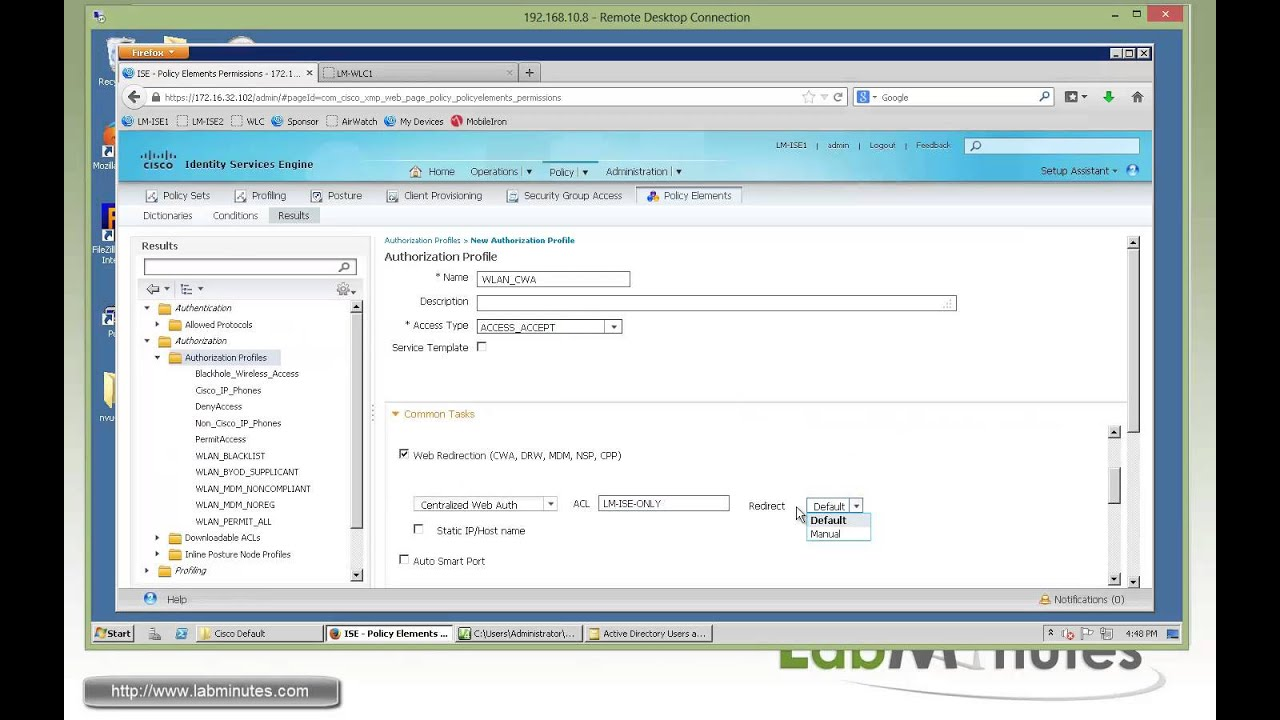 LabMinutes# SEC0115 - Cisco ISE 1 2 Wireless Guest with HTML Customized  Portal (Part 1)