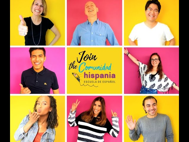 Método Hispania. Welcome to the Comunidad Hispania! Learn Spanish online!