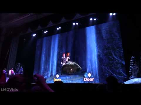 [HD] Anna and Elsa Sing Along California Adventure 1080p Full Complete Show