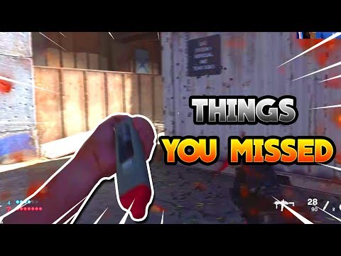 Things You Missed During The Modern Warfare Reveal!  