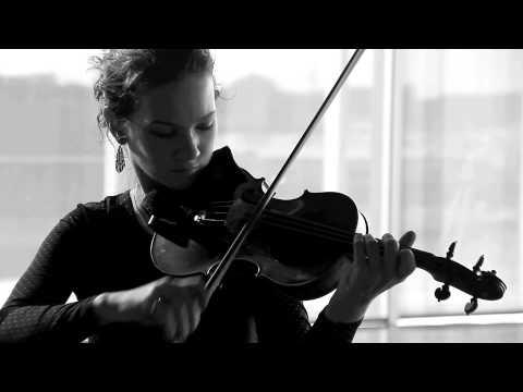 Hilary Hahn  & Hauschka Instrument Interview Trailer (Sleepover Shows)